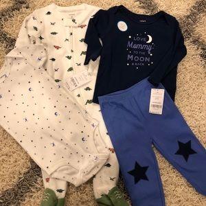 4 items! Baby boy bundle sleep and play 👶🏻